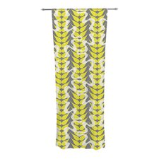 Whirling Leaves Curtain Panels (Set of 2)
