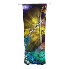 Fairy Tale Off To Neverland Curtain Panels (Set of 2)