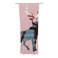 Oh Deer Curtain Panels (Set of 2)