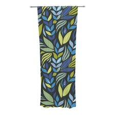 Underwater Bouquet Night Curtain Panels (Set of 2)