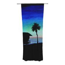 Carlsbad State Beach Curtain Panels (Set of 2)