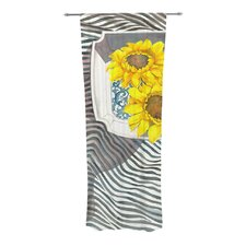 Finall Sunflower Curtain Panels (Set of 2)