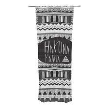 Hakuna Matata Curtain Panels (Set of 2)