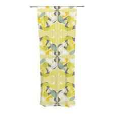 Spring Flourish Curtain Panels (Set of 2)