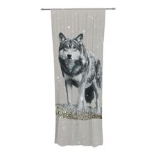 Wolf Curtain Panels (Set of 2)