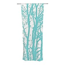 Mint Trees Curtain Panels (Set of 2)