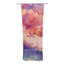 Souffle Sky Curtain Panels (Set of 2)