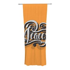 Peace Curtain Panels (Set of 2)