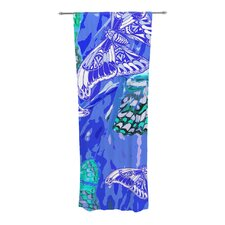 Butterflies Party Curtain Panels (Set of 2)
