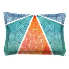 Pyramids of Giza by Pom Graphic Design Woven Pillow Sham