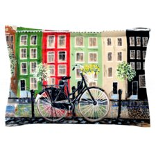 Bicycle by Christen Treat Woven Pillow Sham