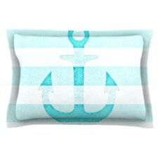 Stone Vintage Anchor by Monika Strigel Woven Pillow Sham