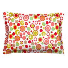 Bubbles by Louise Machado Woven Pillow Sham