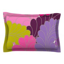 Moroccan Leaves by Nicole Ketchum Woven Pillow Sham