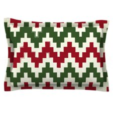 Christmas Gram Woven Pillow Sham