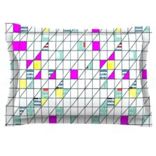 Squares by Michelle Drew Woven Pillow Sham