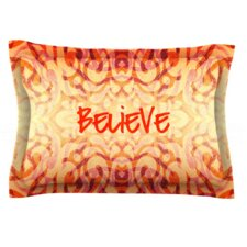 Tattooed Believer by Caleb Troy Woven Pillow Sham