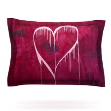 Miss You by Steve Dix Woven Pillow Sham