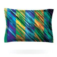 Set Stripes II by Theresa Giolzetti Woven Pillow Sham