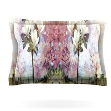 The Magnolia Trees by Suzanne Carter Woven Pillow Sham