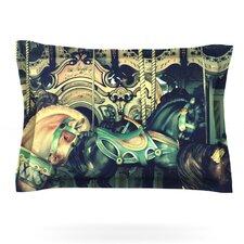 Carousel by Robin Dickinson Woven Pillow Sham