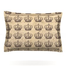 Crowns by Suzanne Carter Woven Pillow Sham