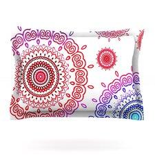 Rainbow Infinity by Monika Strigel Woven Pillow Sham