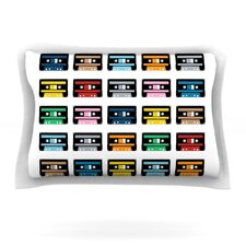 Rainbow Tapes by Project M Woven Pillow Sham