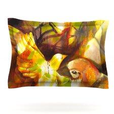 Memory by Kristin Humphrey Woven Pillow Sham