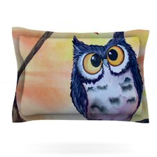 Hootie Cutie by Padgett Mason Woven Pillow Sham