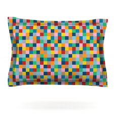 Colour Blocks by Project M Woven Pillow Sham