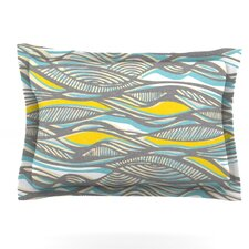 Drift by Gill Eggleston Woven Pillow Sham