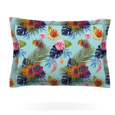 Tropical Floral by Nika Martinez Woven Pillow Sham