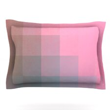 Girly Pixel Surface by Danny Ivan Woven Pillow Sham