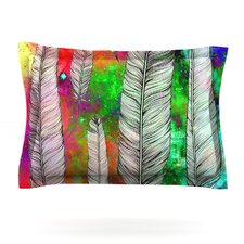 Feather by Suzanne Carter Woven Pillow Sham