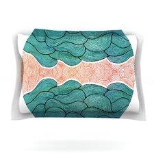 Ocean Flow by Pom Graphic Design Woven Pillow Sham