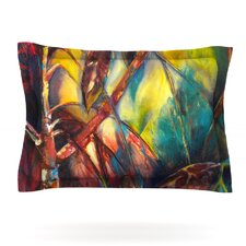 Growth by Kristin Humphrey Woven Pillow Sham