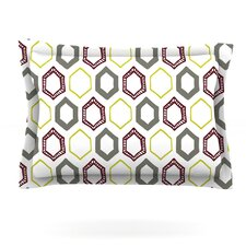 Hexy by Laurie Baars Woven Pillow Sham