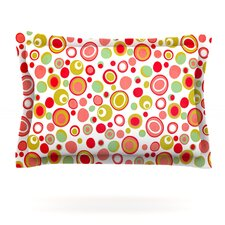 Bubbles by Louise Machado Cotton Pillow Sham
