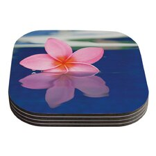 Plumeria by Bree Madden Coaster (Set of 4)