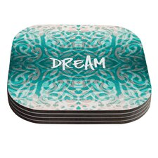 Tattooed Dreams by Caleb Troy Coaster (Set of 4)
