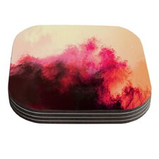 Painted Clouds II by Caleb Troy Coaster (Set of 4)