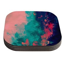 Painted Clouds Double by Caleb Troy Coaster (Set of 4)