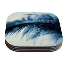 Fall in Blue by Ingrid Beddoes Coaster (Set of 4)