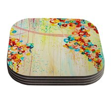 Summer in Bloom by Ebi Emporium Coaster (Set of 4)