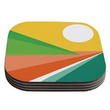 Beach by Budi Kwan Coaster (Set of 4)