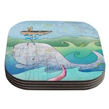 I'm on a Boat by Catherine Holcombe Coaster (Set of 4)
