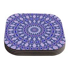 Kaleidoscope by Iris Lehnhardt Coaster (Set of 4)