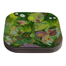 Jungle by Marianna Tankelevich Coaster (Set of 4)