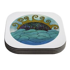 Oceania by Pom Graphic Design Coaster (Set of 4)
